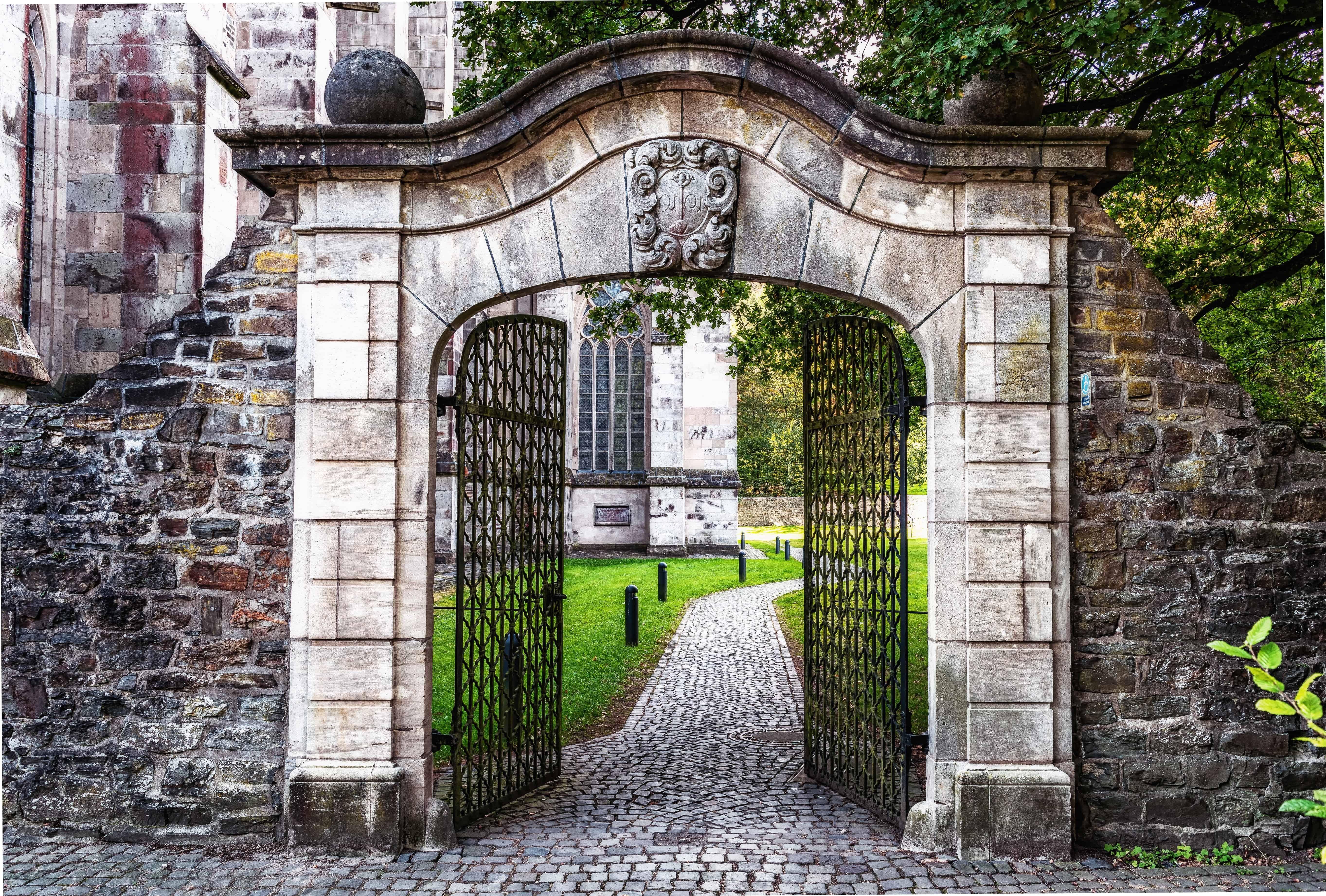 Ingresso Casa Esterno In Pietra foto gratis: ingresso, cancello, pietra, porta anteriore