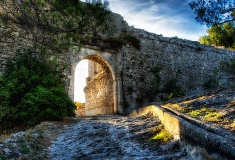medieval, fortification, architecture, stone, castle, structure, wall