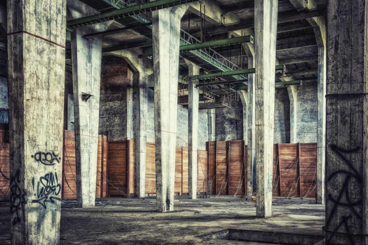 architecture, old, factory, warehouse, city, structure