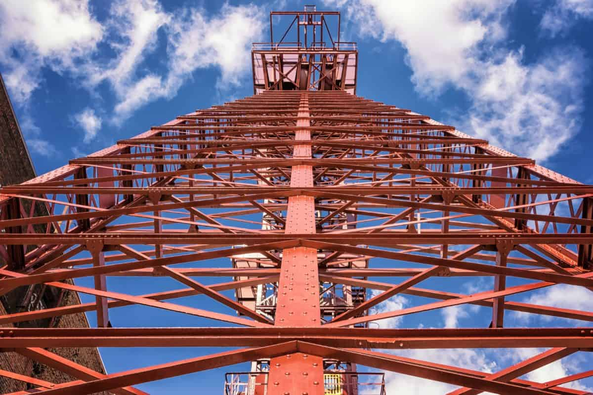 metallo, edilizia, industria, cielo, tecnologia, acciaio, Torre