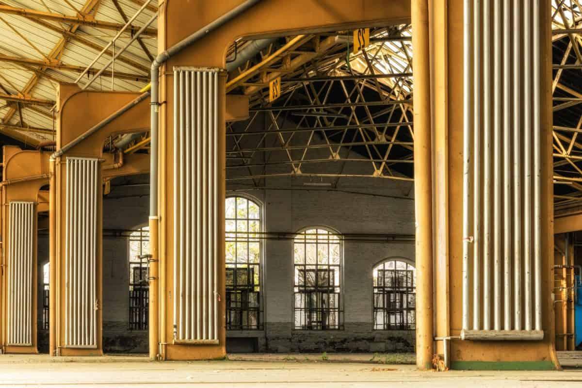 metallo, struttura, decorazione di interni, costruzione, finestra