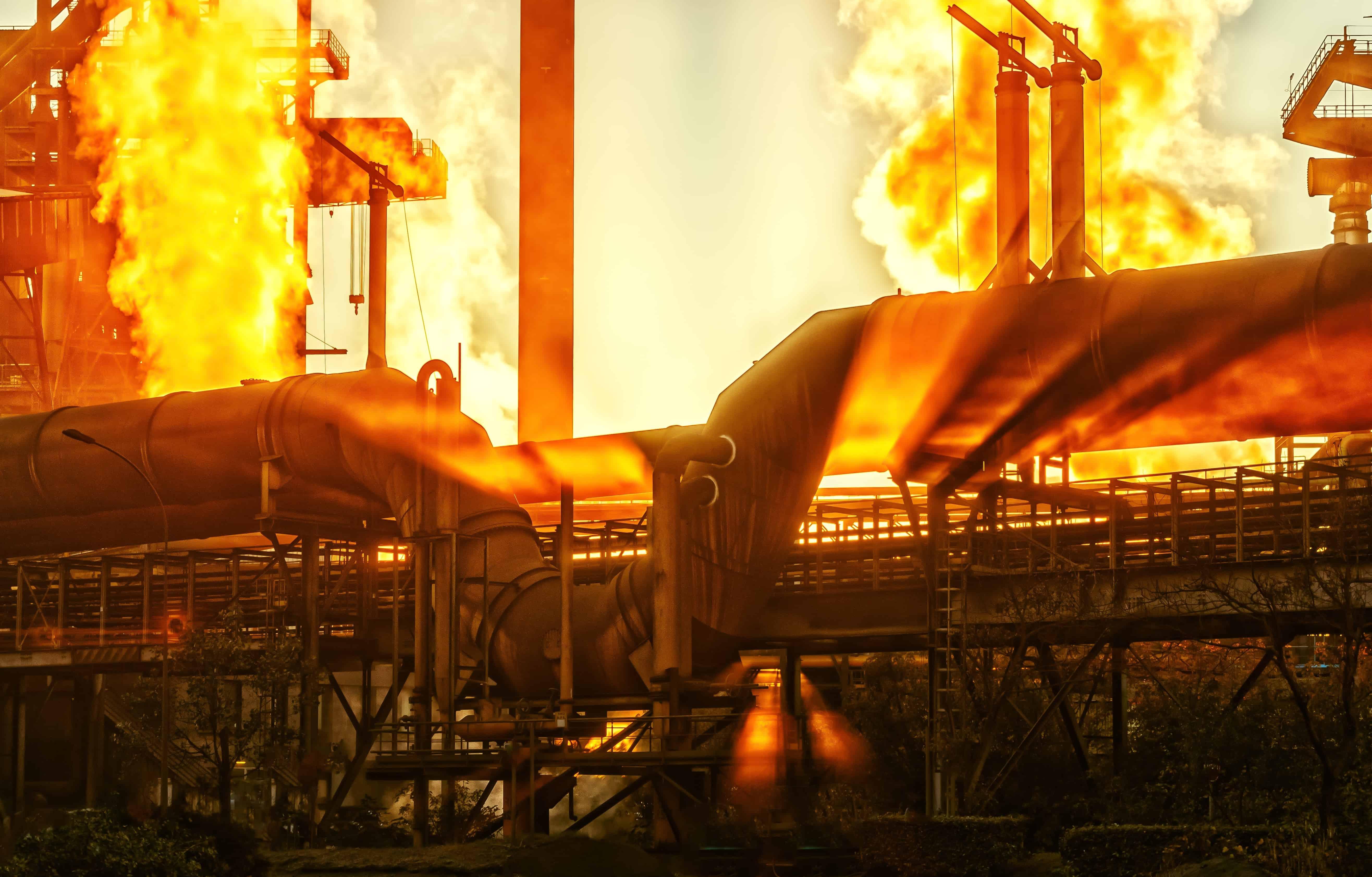 Wärme, Treibstoff, Rauch, Kohle, Energie, Industrie, Industrie, Fabrik
