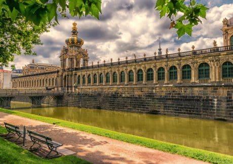 arkitektur, slott, residence, palace, hus, landmärke