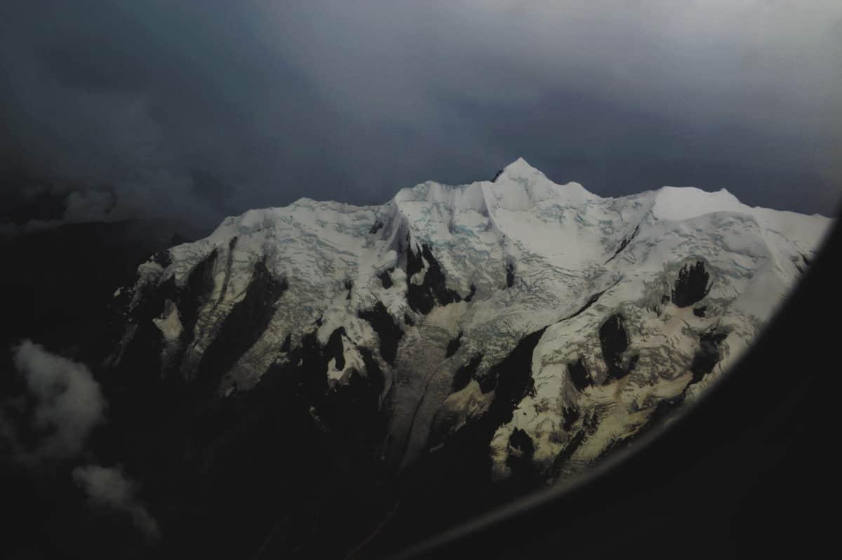 mountain peak, glacier, winter, snow, ice, landscape, sky, outdoor