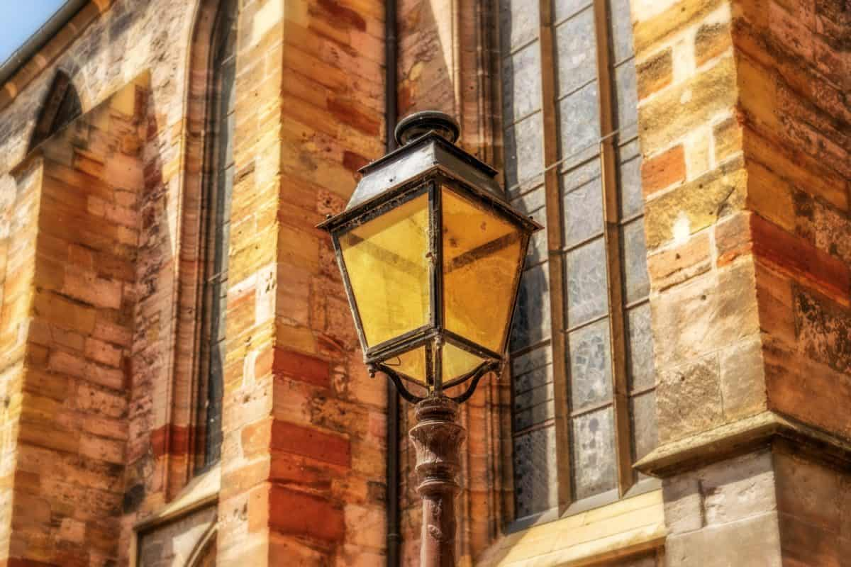 antiguo, ventana, casa, arquitectura, lámpara de calle, estructura al aire libre