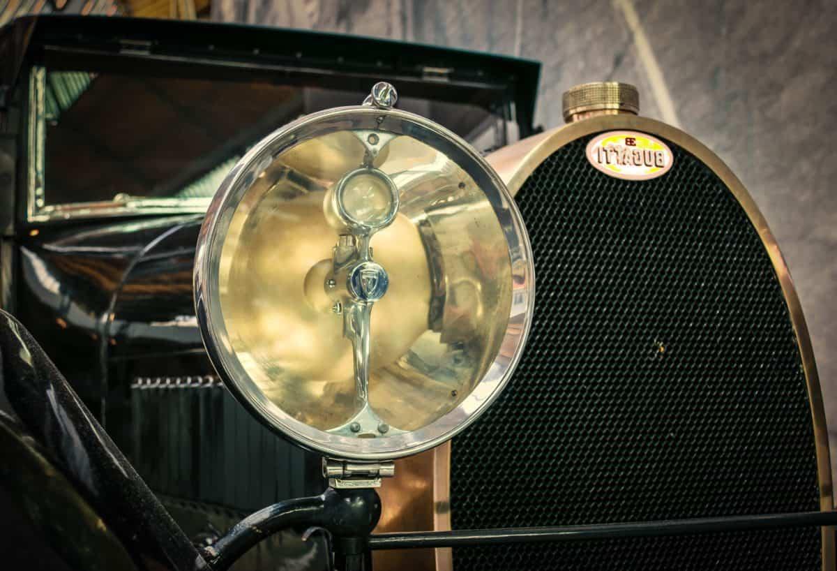 headlight, oldtimer, sedan, car, transport, vehicle
