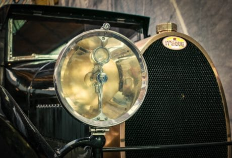 headlight, oldtimer, sedan, car, transport, vehicle