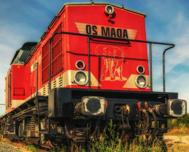 diesel engine, railway, train, locomotive, station, engine, vehicle