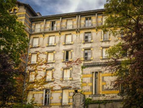 hus, gamle, arkitektur, palace, facade, Feriebolig, city