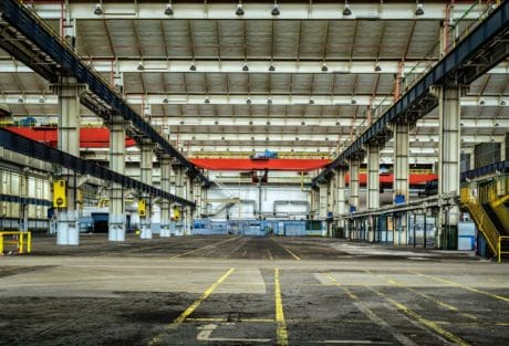 factory, steel, warehouse, architecture, metal, construction, object