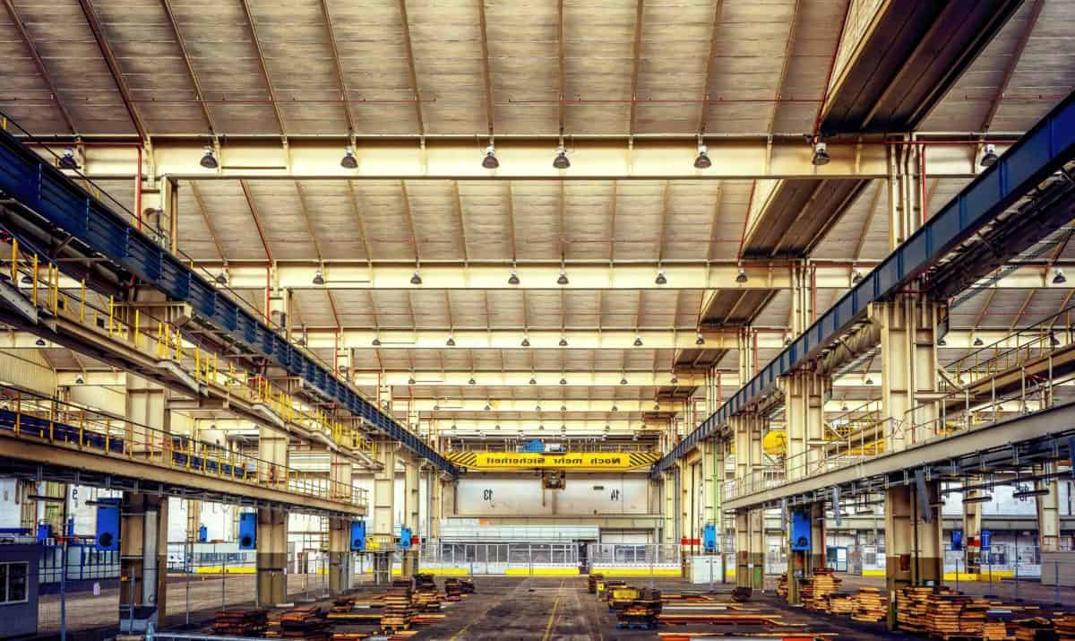 steel, industry, warehouse, architecture, hall, metal