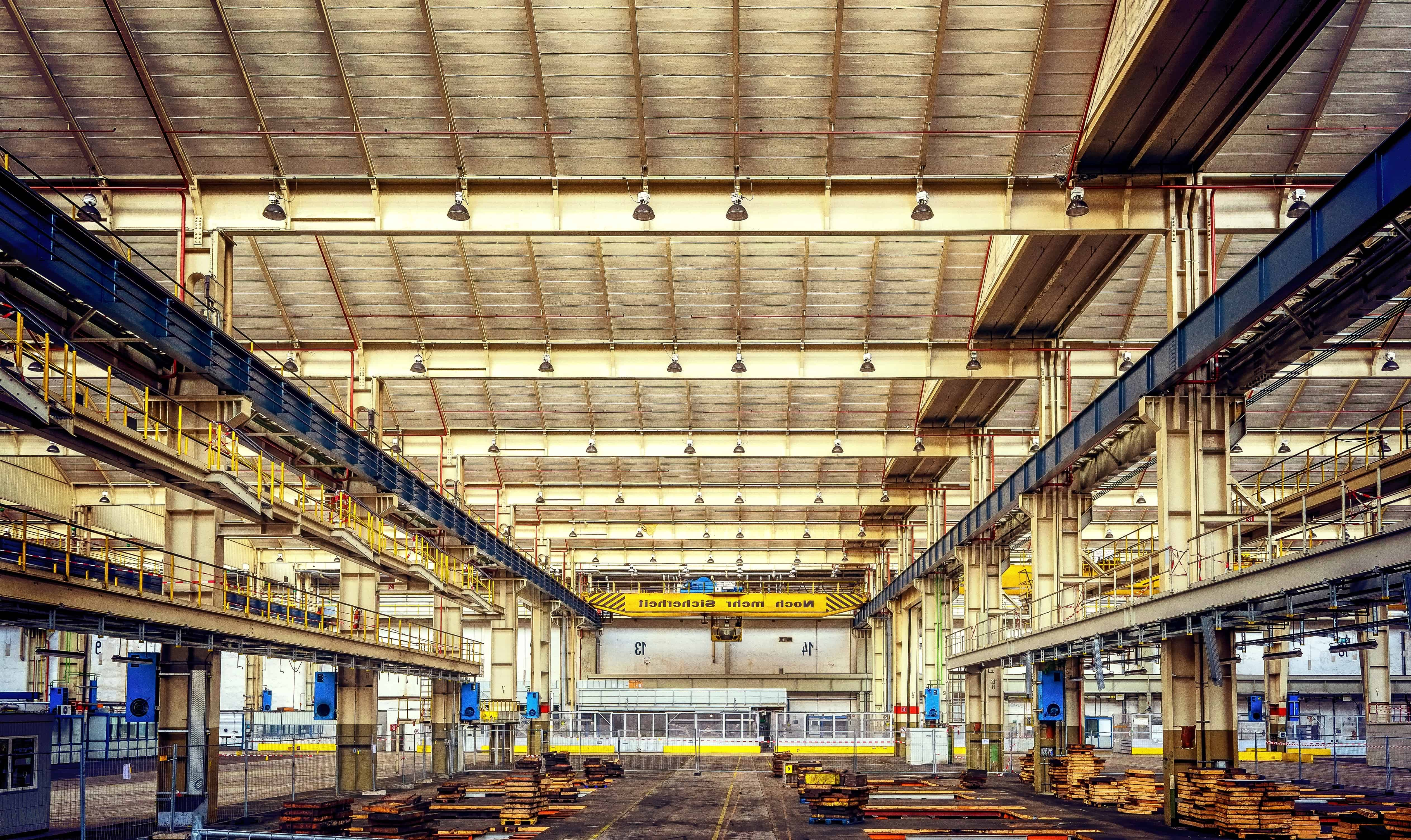 Free Picture Steel Industry Warehouse Architecture