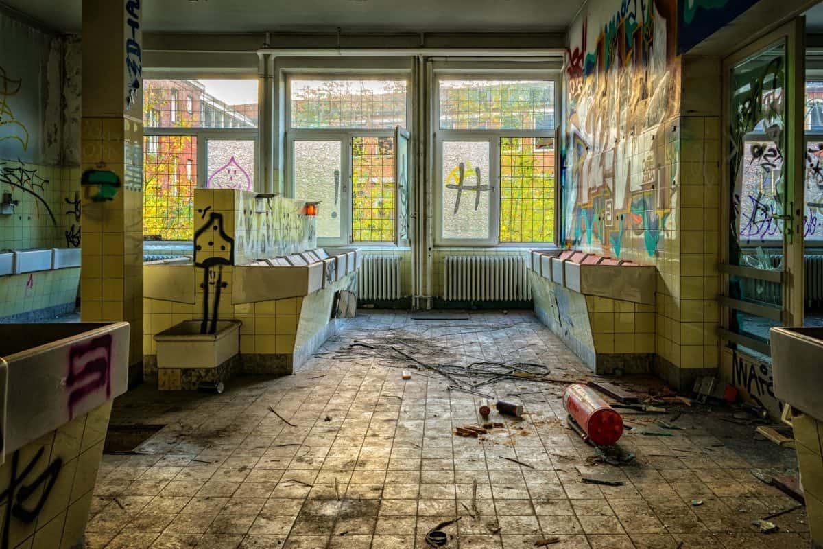 chambre, accueil, fenêtre, mobilier, intérieur