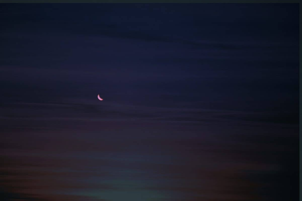 sky, eclipse, nightt, moon, dark, moonlight
