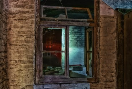 house, window, architecture, wall, old