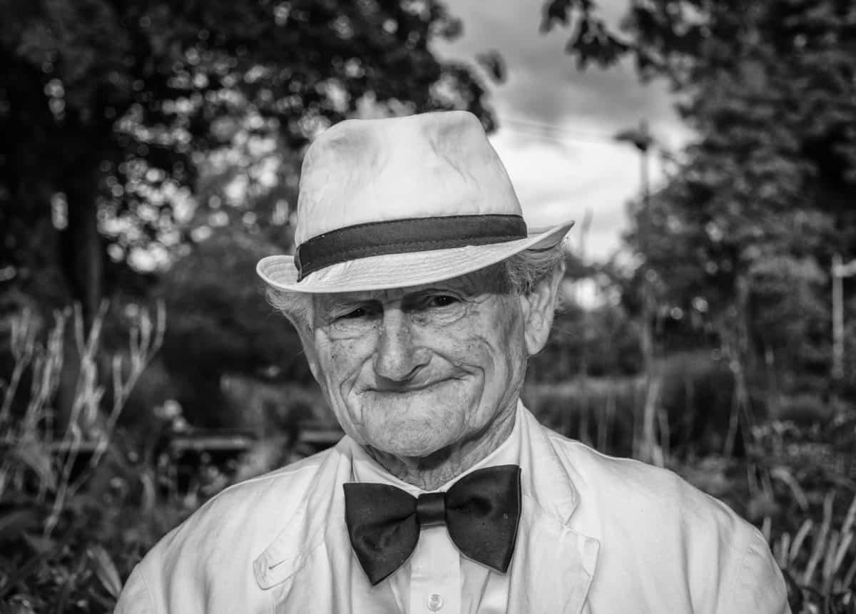 ältere Menschen, Porträt, Monochrom, Mann, Fotomodell, Person, Baum, im freien