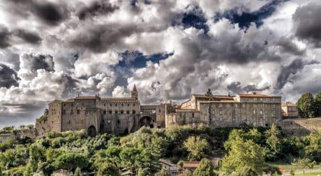 linna, sky, arkkitehtuuri, vanha, kaupungin, palace, residence