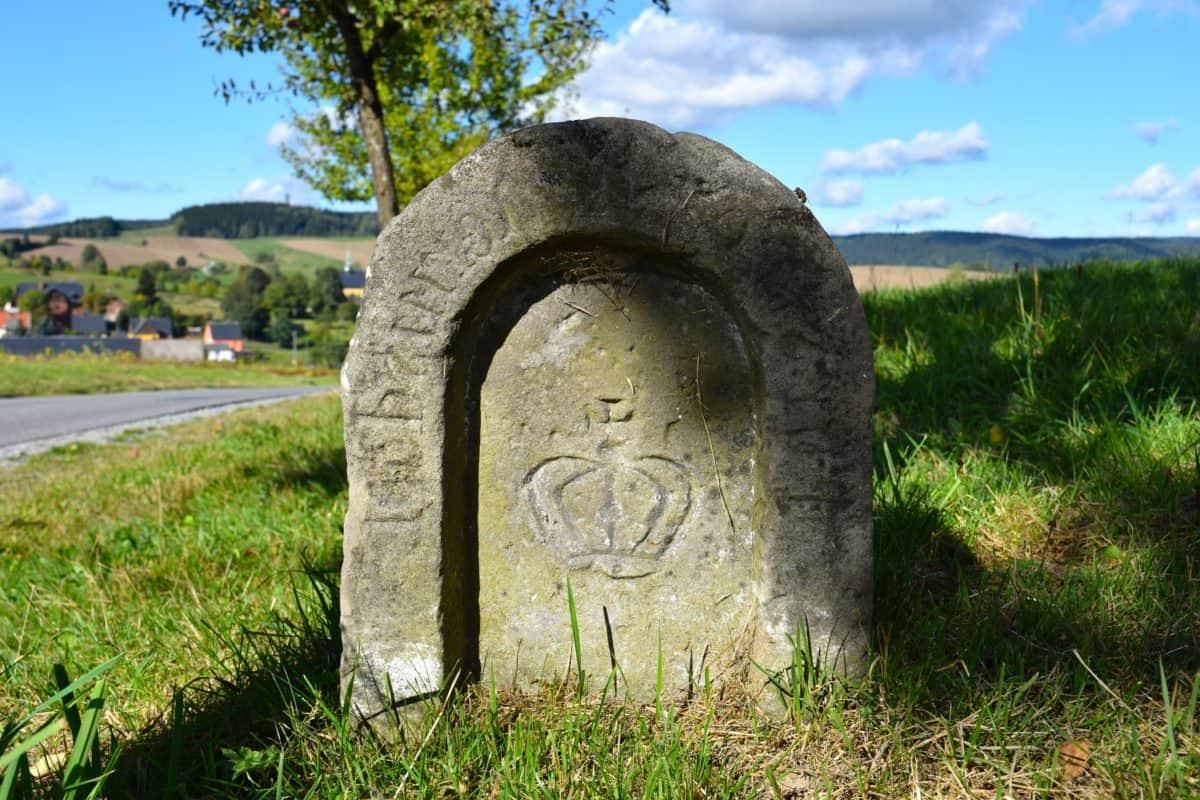 grass, memorial, gravestone, stone, structure, cemetery, ancient