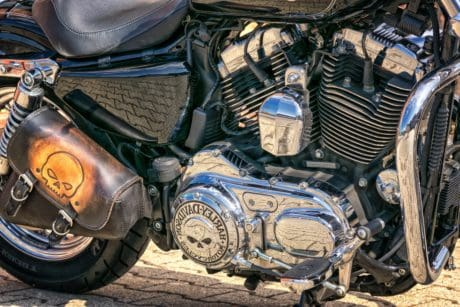 motorcycle, outdoor, motorbike, machine, engine, wheel, vehicle