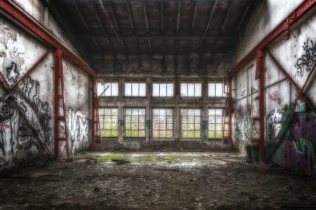graffiti, house, architecture, structure, warehouse