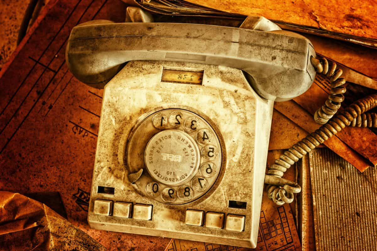 antique, old, nostalgia, retro, classic, telephone, equipment
