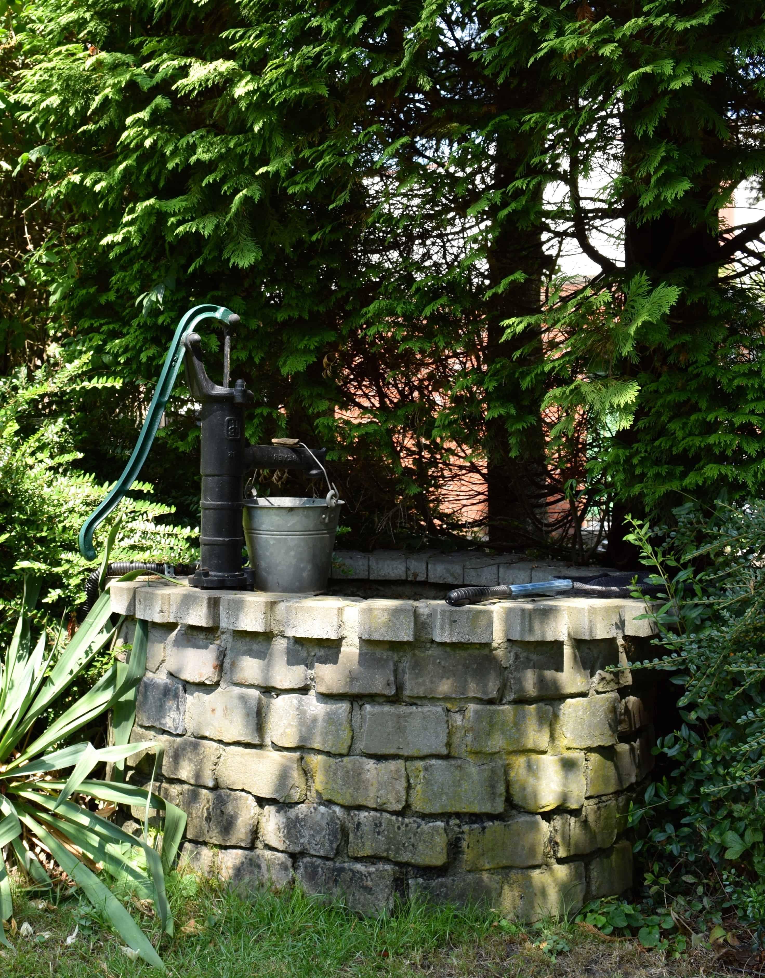 Pumpe Garten
