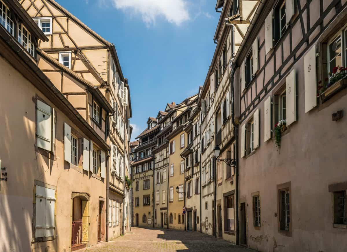 Mimarlık, şehir, sokak, eski, kentsel, ev, açık, mavi gökyüzü, şehir