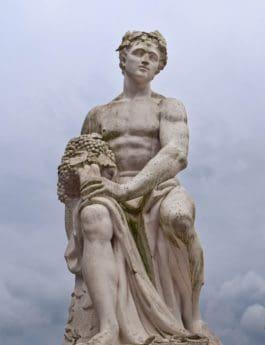 statue, renaissance, sculpture, monument, objet, art, marbre, religion