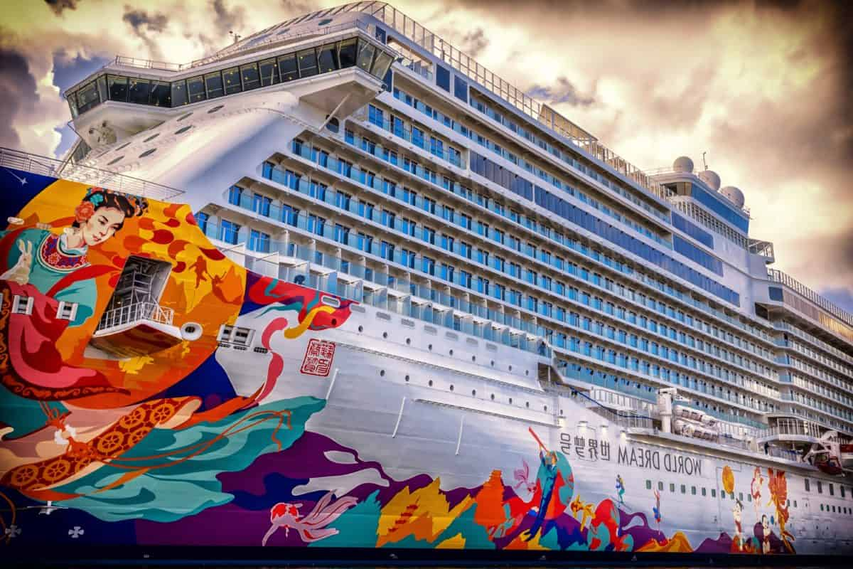 ship, tourism, travel, transport, colorful, sky, luxury