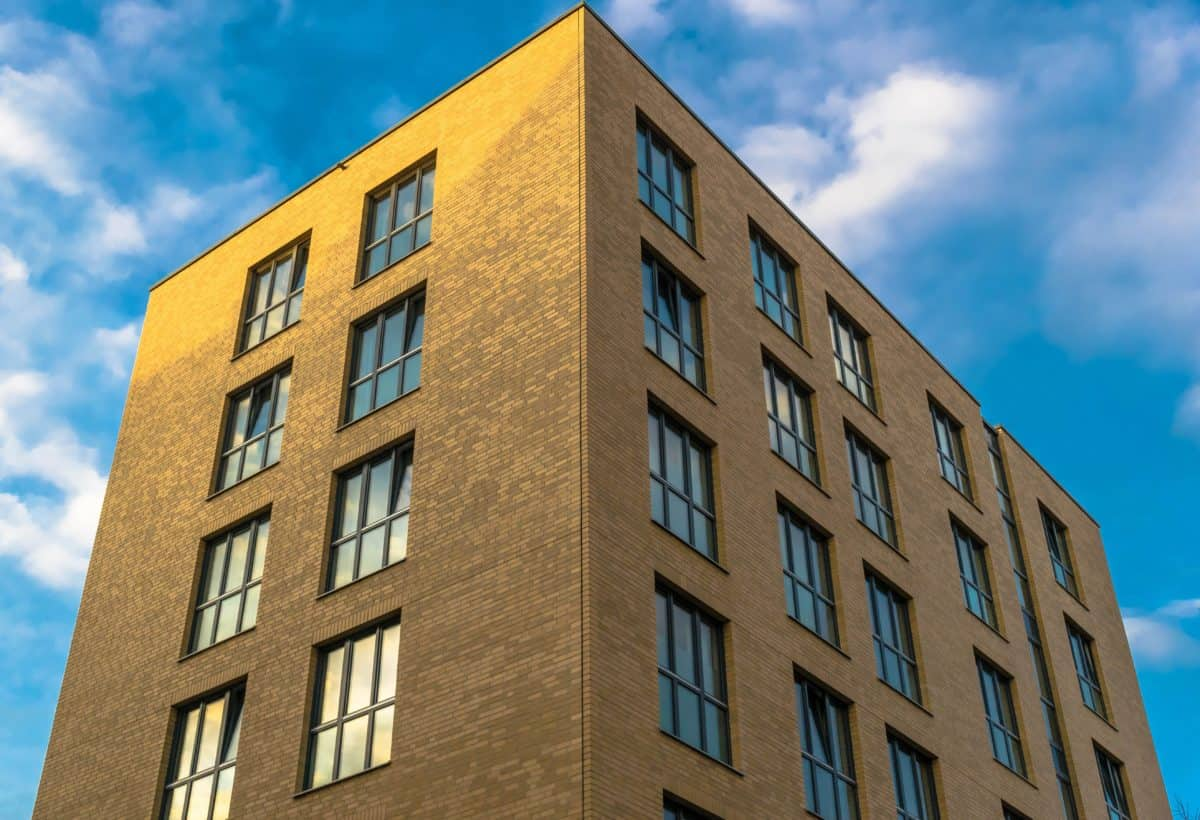 apartment, building, facade, city, sky, window, architecture, structure