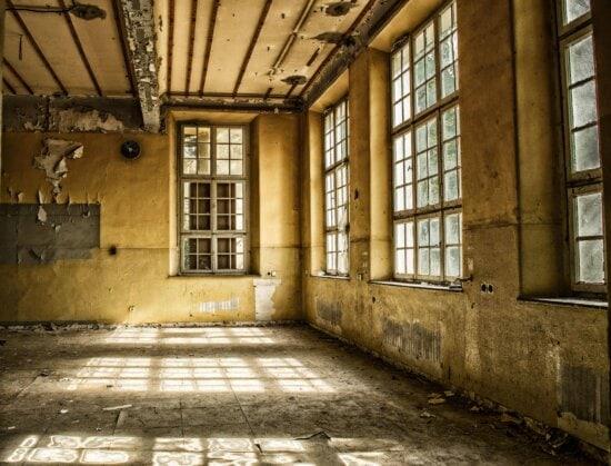 Fenster, innen, Glas, Helligkeit, alte, Architektur, Wand, Schatten