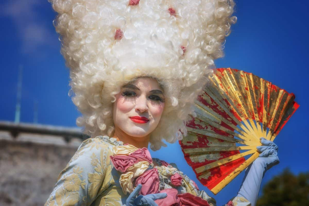 people, festival, wig, costume, hairpiece, portrait, attire, photo model