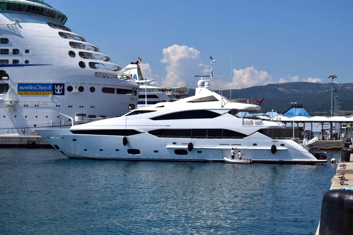 яхта, кораб, плавателен съд, вода, лодка, превозно средство, пристанището, море