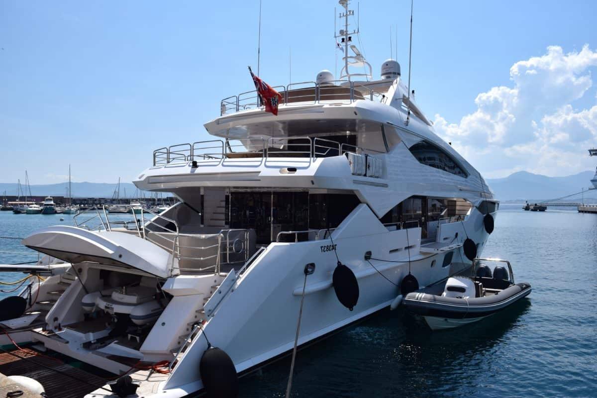 морски, лодка, вода, пристанището, превозно средство, синьо небе, кораб, индвивидуално яхта