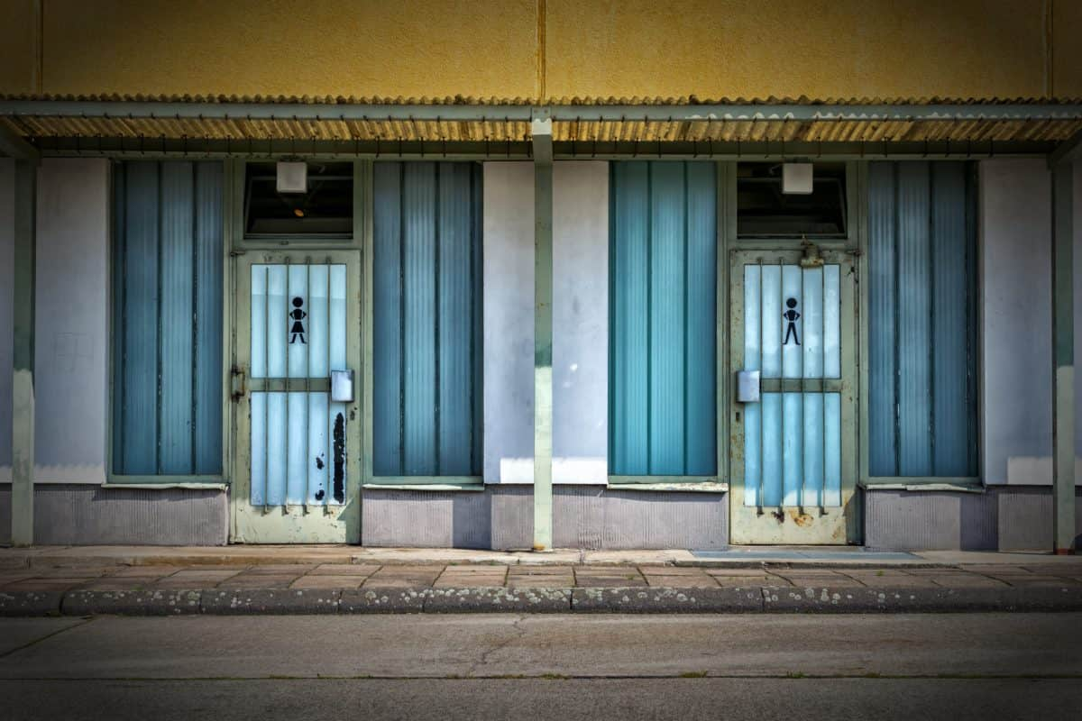 bâtiment, rue, ville, porte d'entrée, architecture