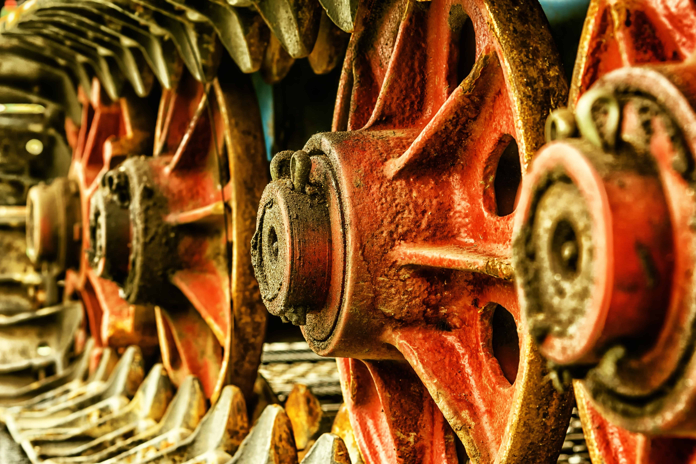 Wheel Metal Machine Rust Texture Object Iron