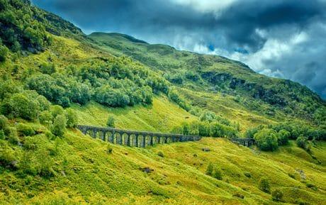 nature, colline, ciel, paysage, montagne, campagne, champ