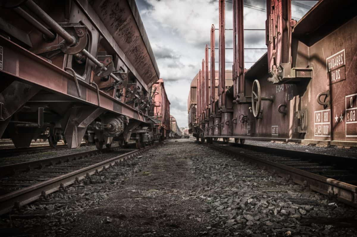 acero, motor, hierro, oxidación, metal, locomotora, tren, industria, ferrocarril