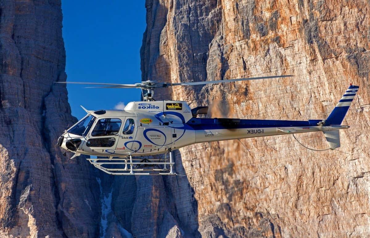 natura, montagna, outdoor, in elicottero, aereo, veicolo, volo