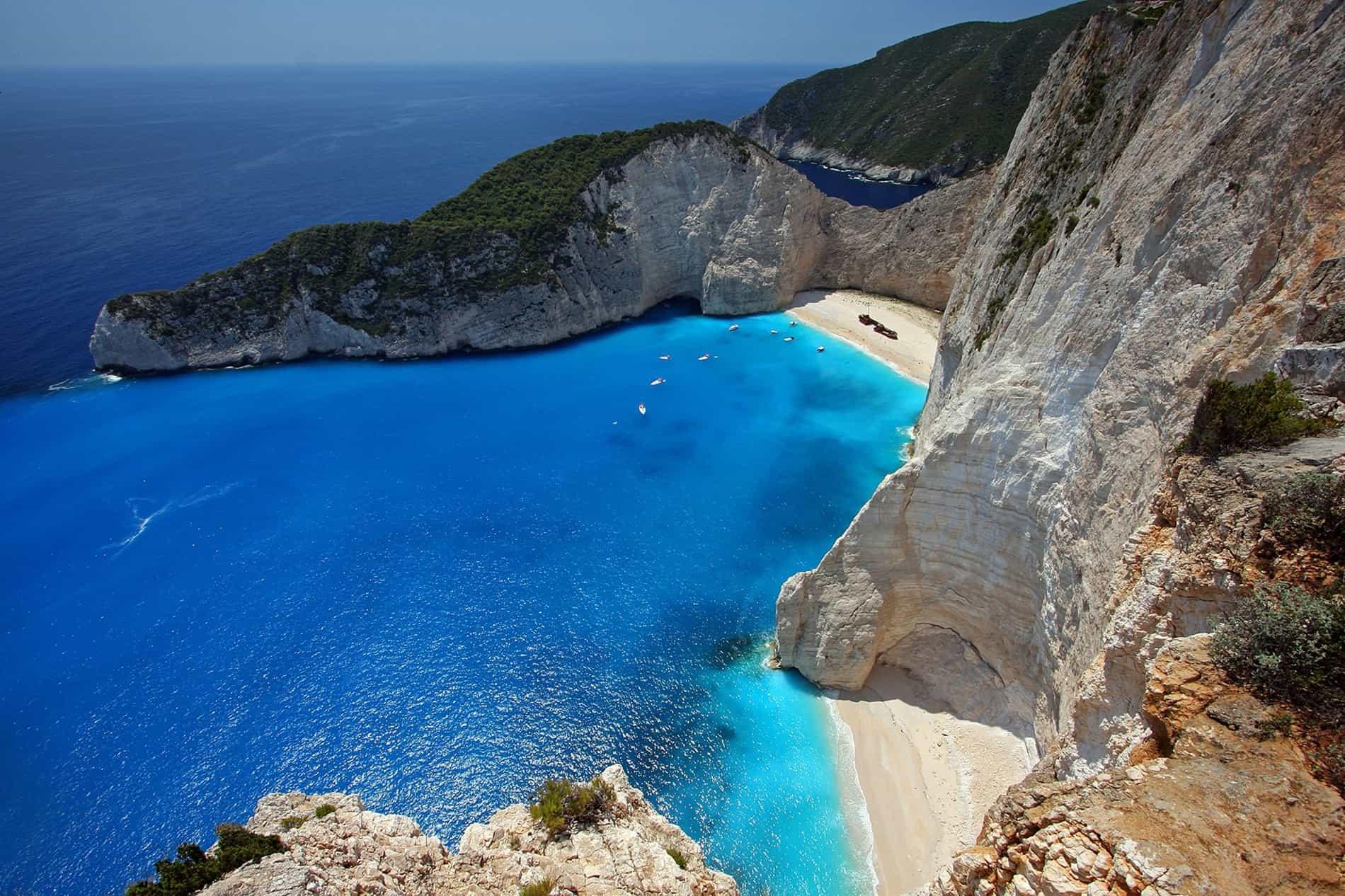 free picture: seashore, landscape, water, sea, beach, ocean, coast, bay