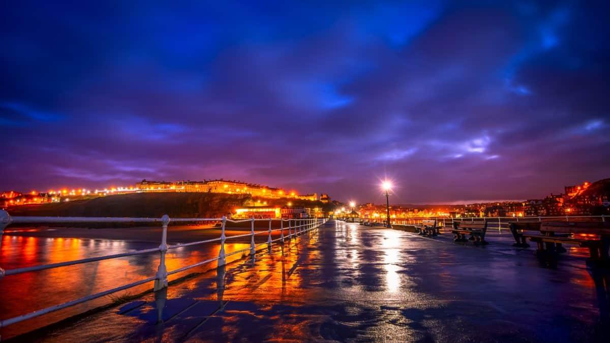 sunset, bridge, city, reflection, dusk, water, dawn, pier, sky