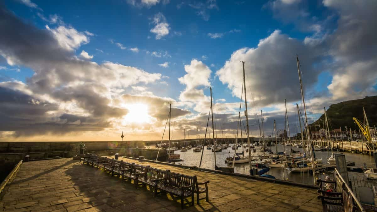 sky, sea, water, pier, atmosphere, landscape, outdoor