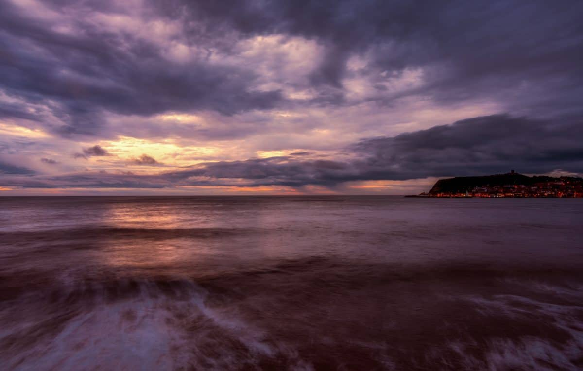 seascape, beach, dusk, water, landscape, dawn, sea