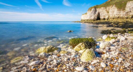 plage, nature, mer, bord de mer, l'eau, l'été, Côte