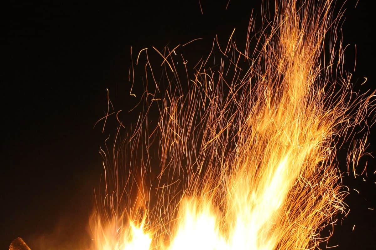 burn, smoke, danger, ignite, energy, heat, night