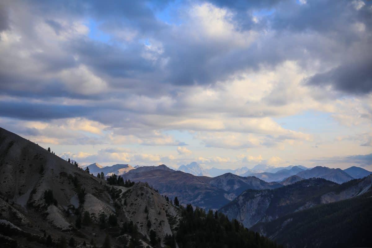 montagna, cielo, paesaggio, Valle alta, all'aperto,