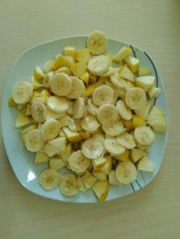 cibo, verdura, pasto, frutta, banana, calorie