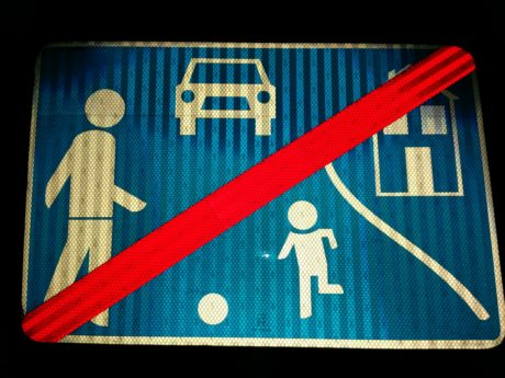 traffic sign, dark, design, blue, illustration