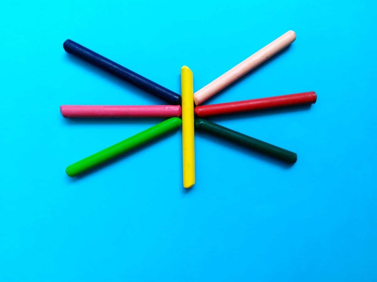 palillo figura, lápiz, lápices