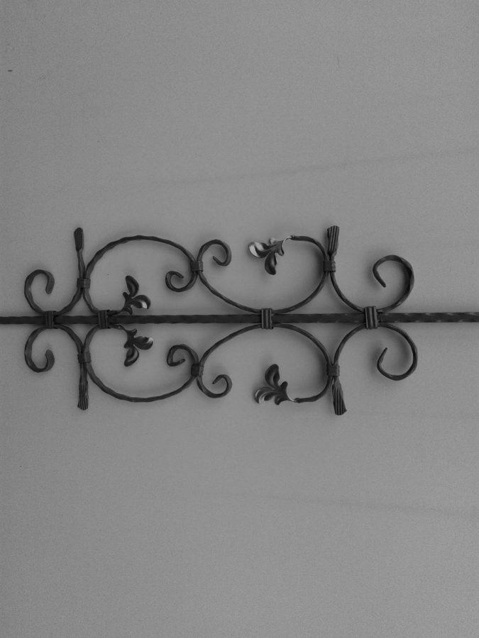 muro, metallo, ferro, oggetto, grigio, vecchio, design, modello